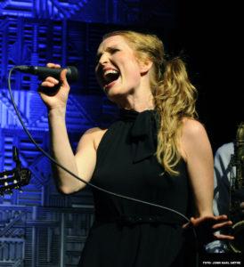Karina onstage