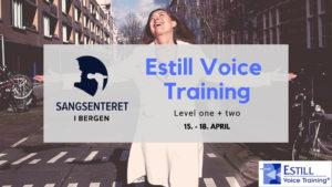 Estill Voice Training - spennende kurs i Bergen